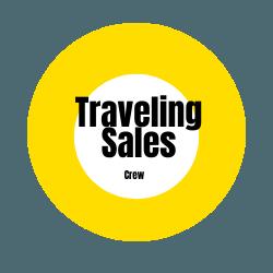 Traveling Sales Crew Logo